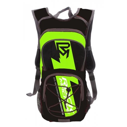 hydrapack with water blader black/green